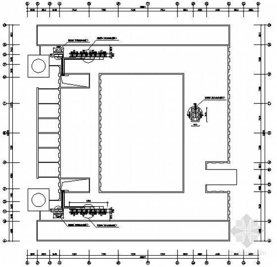 行政办公楼空调平面图