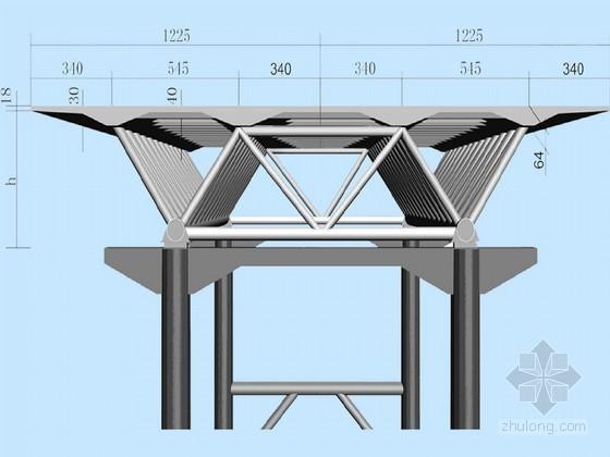II型双块式资料下载-知名企业编制钢管混凝土桁架梁桥实施性施组212页附CAD(鲁班奖工程 钢管格构墩)