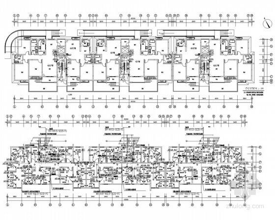 二类普通高层住宅电气施工图纸