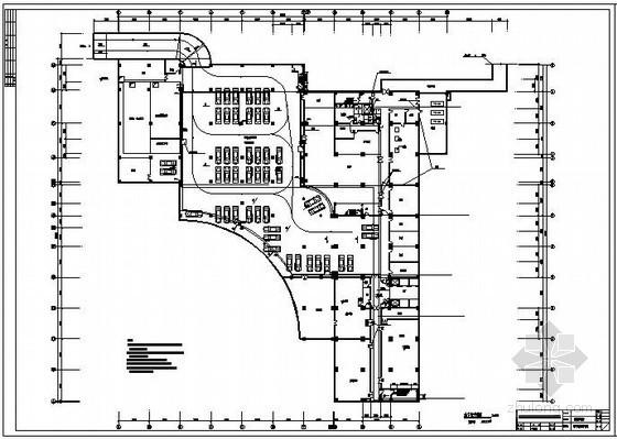 某酒店室内各层消防平面图