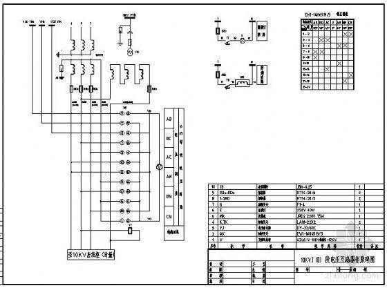 10KV电压互感器原理