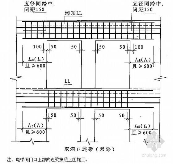 [内蒙古]高层商业办公楼钢筋工程施工方案(2012年)