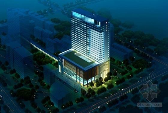 [福建]市级综合医院规划及单体建筑设计方案文本