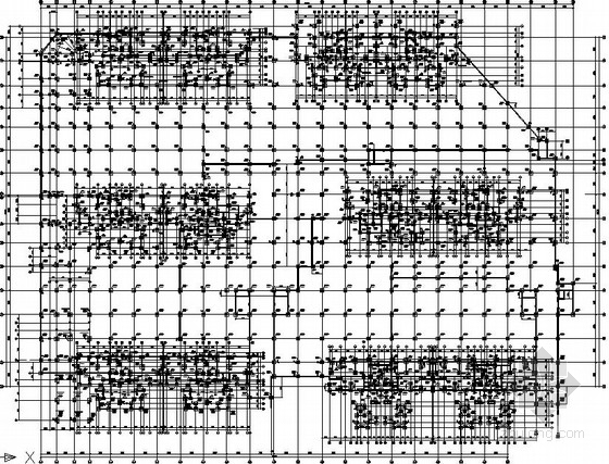 [湖南]大型小区地下室结构施工图