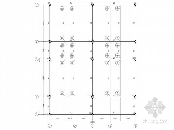 [石家庄]轻钢别墅结构施工图