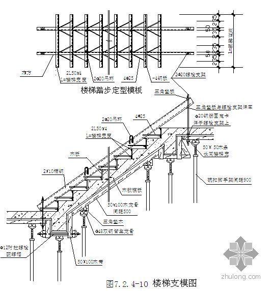 北京某高层商场地下模板施工方案