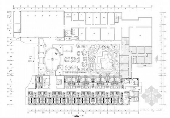 [杭州]现代中式风格雅致饭店室内改造方案设计图