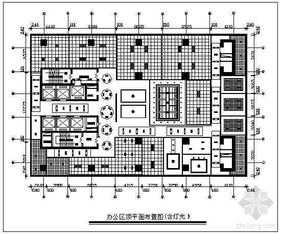 办公楼装修布置图-2