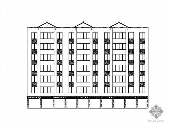 [四川]某县环城路建筑改造方案图