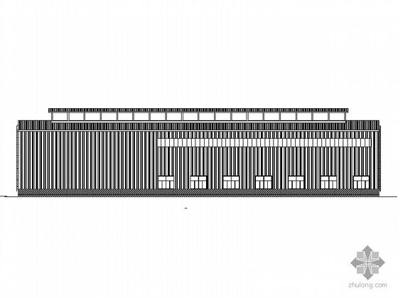 某20000t/a石墨电极工程成品库房、装筒站厂房建筑方案CAD图