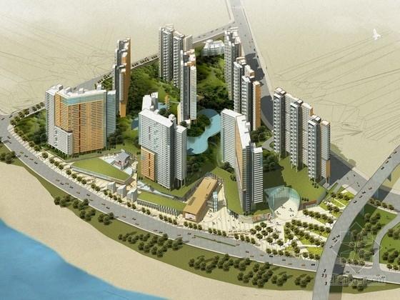 [山东]现代风格住宅区规划及单体方案文本