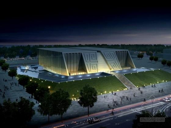 [江蘇]新中式風格多層博物館建筑設計方案文本(含三個方案)