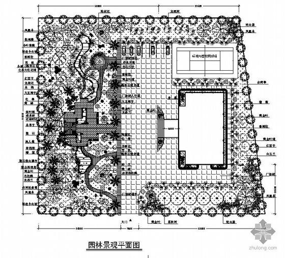深圳某别墅园林景观设计方案