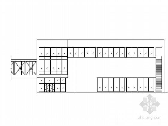 [武当山]玄武湖某国际大酒店三层会议中心建筑施工图