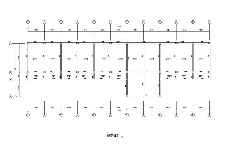 七层公寓框架结构毕业设计(建筑图+结构图+计算书)