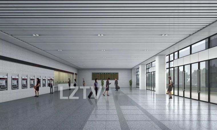 泸州城北高铁站最新设计图出炉(组图)