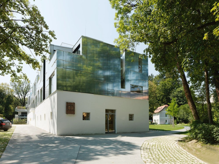 奥地利隐秘地标的住宅