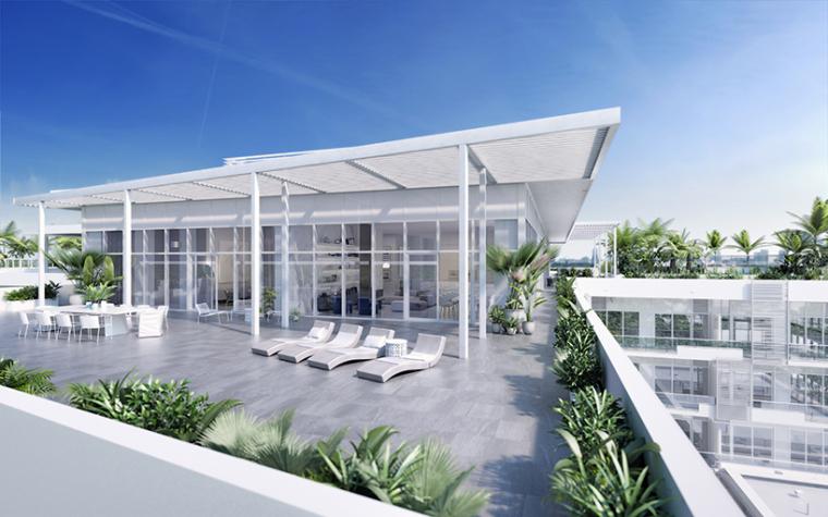 美国迈阿密顶楼豪宅