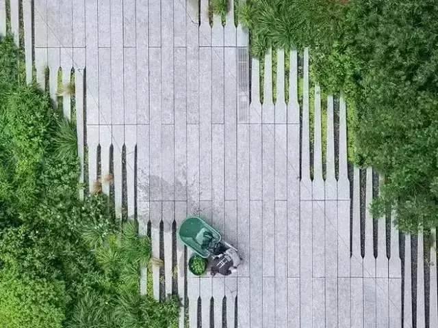 园路设计原则及材质运用方法