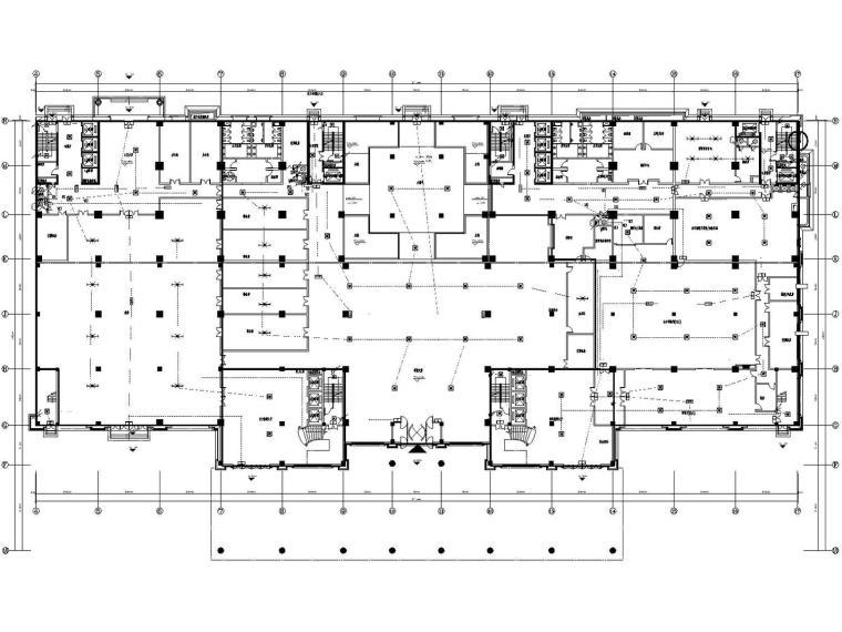 [四川]巨洋威尼斯五星级酒店商业电气施工图(变电所、总图)