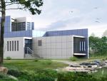 两层现代别墅方案带效果图