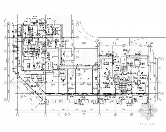 [四川]11万平棚户区改造工程高层商住楼给排水消防施工图