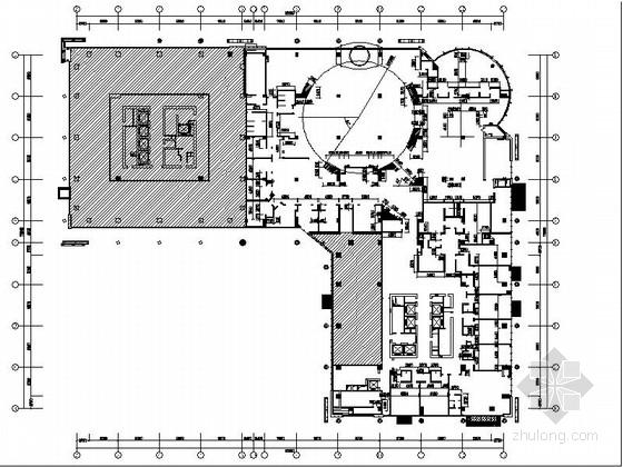 [江苏]五星级大饭店豪华包厢装修CAD施工图(含效果)