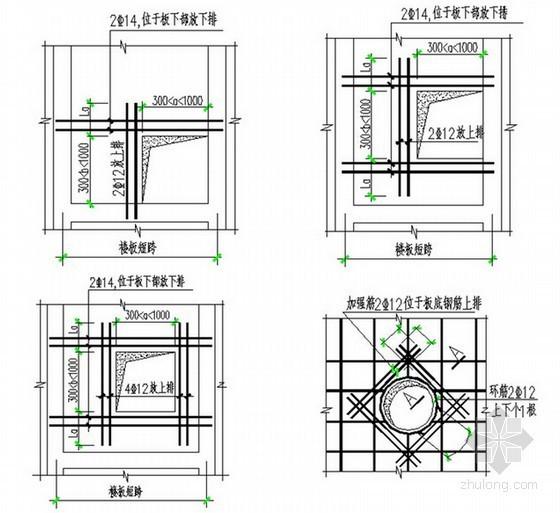 框剪结构住宅楼小区钢筋工程施工方案(90页)