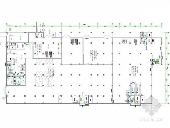 [广西]火车站地下空间通风防排烟系统设计施工图(人防设计)