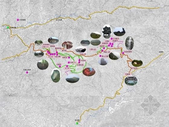 [长沙]名山国家森林公园景观规划设计方案(248页图纸)