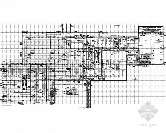 [陕西]多层工业建筑给排水深化设计图