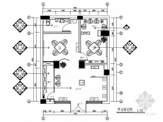 [原创]文化气息浓郁中式红酒专卖店施工图(含效果图)