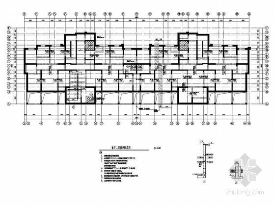 [西宁]26层剪力墙结构住宅楼结构施工图