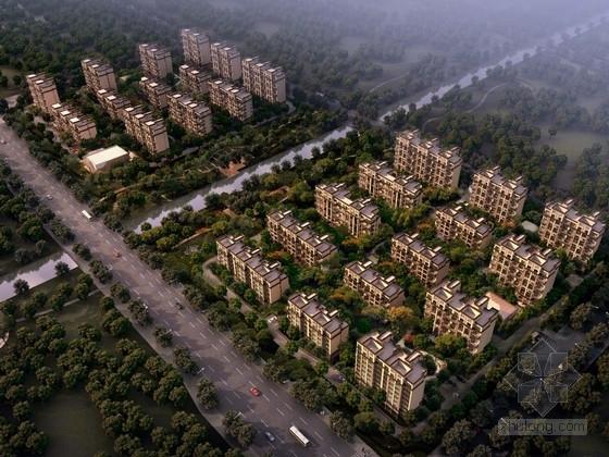 [江苏]高层欧式风格住宅区规划建筑设计方案文本(知名地产)