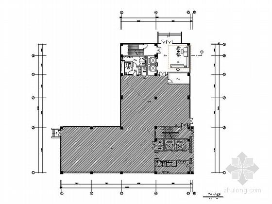 [上海]省市级开发区办公楼装修施工图(含效果)