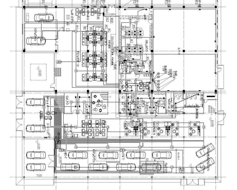 通辽4S点电气施工图纸