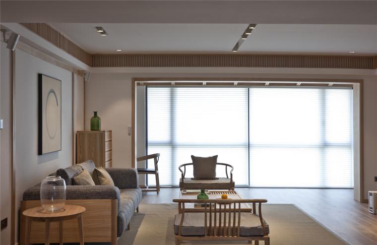 简单自然的中式风格住宅室内实景图 (26)