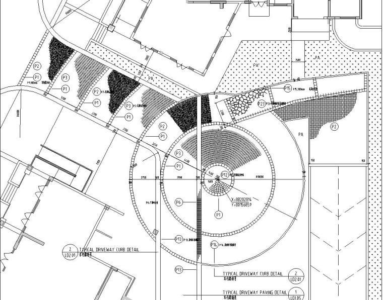 [浙江]水印康庭居住区景观施工图设计(包含CAD+50个文件)