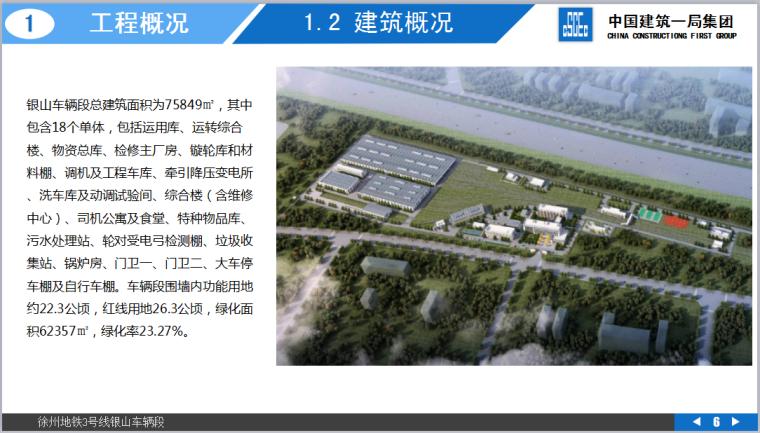 徐州地铁3号线银山车辆段项目策划汇报(共151页,图文丰富)