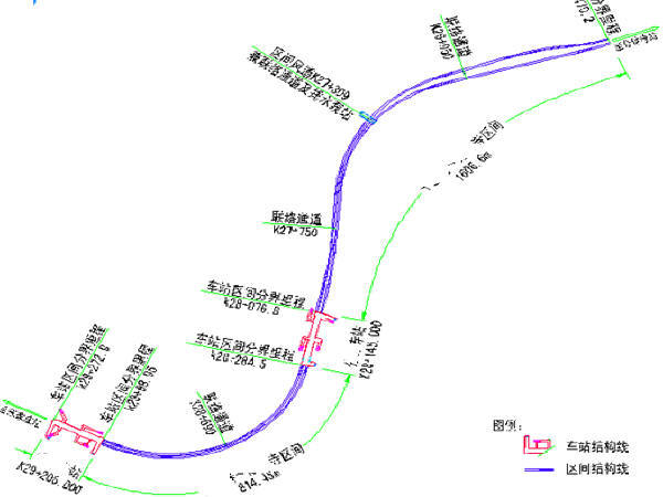 含双层三跨框架结构车站盾构法单线单洞区间隧道2站2区间地铁工程施工组织设计469页