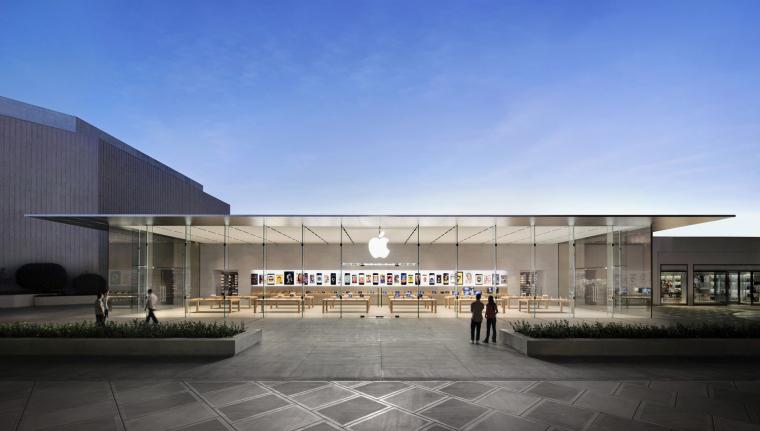 美国斯坦福苹果零售店