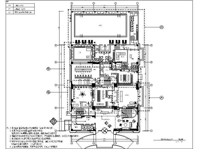 [苏州]精品休闲娱乐度假主题酒店设计施工图(含效果图)