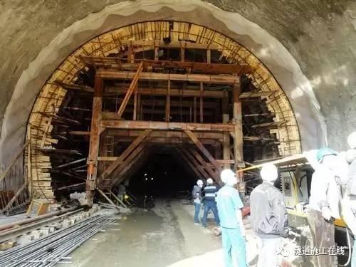 隧道二次衬砌裂缝的分析与防治_6