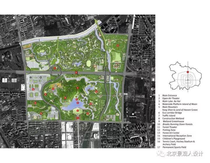 [干货]优秀公园布局图!