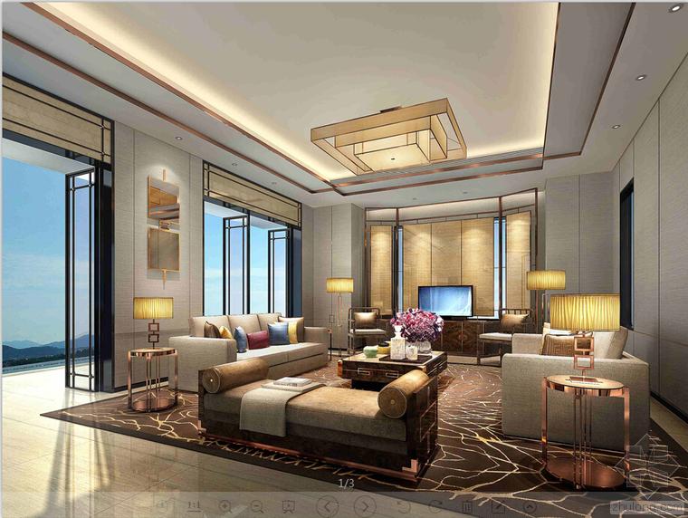 室内设计家装工装施工图及设计方案精品汇总_4