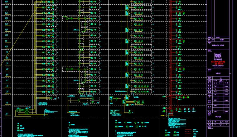 同济家园三期电气建筑施工图