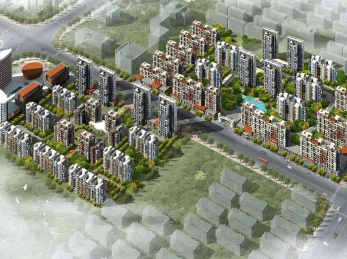 [河北]廊坊某小区规划建筑方案设计文本