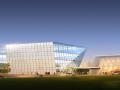 现代风格图书馆建筑设计方案文本+CAD+SU模型