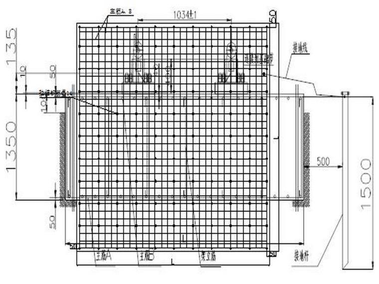甘肃知名酒店塔吊基础施工方案-TC5610预埋螺栓固定式基础示意图