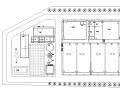[广东]垃圾填埋场废水处理工艺图(CAD)